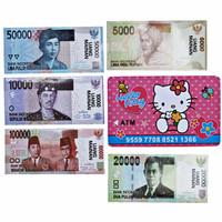 Jual Harga Grosir CELENGAN ATM HELLOKITTY WITH MONEY - MAINAN EDUKASI ANAK Murah