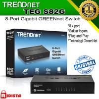 Trendnet Teg S82g-8 Port Gigabit Greennet Switch
