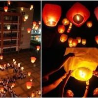 Jual Lampion Terbang Flying Sky Lantern Lentera Fire Balon C Diskon Murah