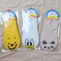 Jual Ankle Sock Disney Character Kaos Kaki Pendek Wanita Murah