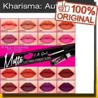 Jual #Lipgloss LA GIRL MATTE FINISH PIGMENT GLOSS  - ORI USA - GROSIR Murah