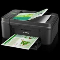 CANON PRINTER PIXMA MX497 MULTIFUNGSI (PRINT, SCAN, COPY, FAX) MURAH