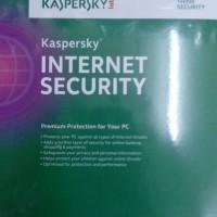 Jual PROMO!! Kaspersky Internet Security For 1PC 1Year MURAH BAGUS Murah