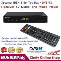 Jual READY XTREAMER BIEN 3 SET TOP BOX DVB-T2 AND MEDIA PLAYER Murah