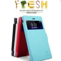 Jual NILLKIN Fresh Leather Flip Case Blackberry Z3 BB | Cover Flipcover Murah