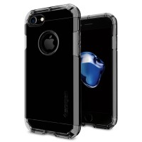 Jual Spigen iPhone 7 Case Tough Armor Cover Casing Original - Jet Black Murah