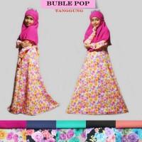 Syari gamis anak  muslim jilbab hijab grosir murah toko tanah abang
