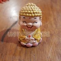 MCSA0006 Patung Dewa Budha Sidharta Gautama Kebahagiaan Keberuntungan