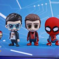 Jual Hot Toys Cosbaby Peter Parker, Spider-Man Homemade Suit & Tony Stark Murah