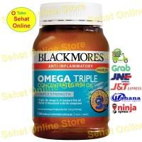 Jual BLACKMORES OMEGA TRIPLE CONCENTRATED FISH OIL 150 KAPSUL Murah