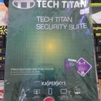 Jual SALE!!! KASPERSKY Tech Titan Security Suite Murah