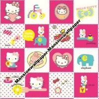 Wallpaper Dinding Anak Hello Kitty