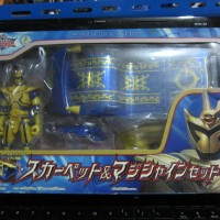 Figure Magi shine Magiranger Power rangers Mystic Force Solaris Knight