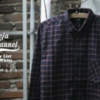 Jual kemeja flannel flanel branded premium Murah