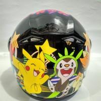 Jual HARGA MURAH Helm Anak GM Pokemon Pikachu Murah