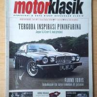 Majalah Motor Klasik 2003 NOS BARU Ford Consul Zephyr Harley Sportster