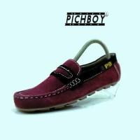 Jual  sepatu PICHBOY PB ORIGINAL HANDMADE BEST SELLER suade bahan  T0210 Murah