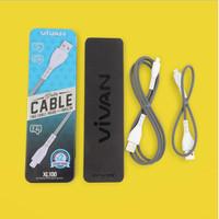 ViVAN XL100 1M + 0.3M Apple Lightning Data Cable iPhone 5/6/7/8/X