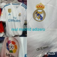 Jersey Baju Real Madrid Home ADizero 17/18 Grade Ori Futsal Madridista