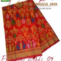 Harga kain batik pekalongan primisima prada bali 09 merah unggul | Hargalu.com