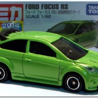 Ford Focus RS no 50 green Tomica Takara tomy