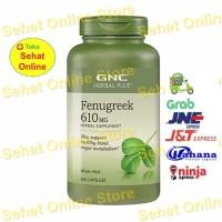 GNC Herbal Plus Fenugreek 610 mg - 200 Kapsul