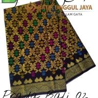 Harga kain batik pekalongan primisima prada bali 02 hitam unggul | Hargalu.com