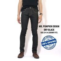 MR. PUMPKIN DENIM DRY BLACK (DRY JEANS) ORIGINAL INDONESIA