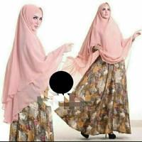 Gamis Syari Ori Sesuai Foto / Realpic Baju Muslim Wanita 34