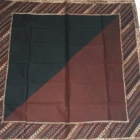 Jual udeng / iket kepala / blangkon kain/ Topong 2in1. 2 warna dlm 1 udeng Murah