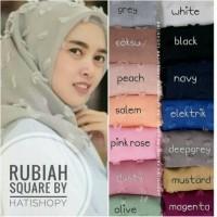 Jual Termurah Jilbab Rubiah / Rubiah Square / Rubiah / jilbab segiempat Murah