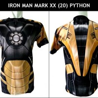 T-Shirt / Kaos Iron Man Mark XX (20) Python | Ironman Mark 20