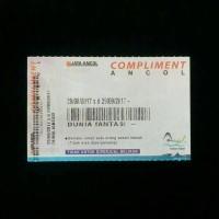 tiket dufan ancol + tiket ancol