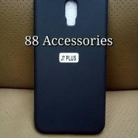 Softcase BLACK MATTE for SAMSUNG Galaxy J7+ new / J7 plus / slim black