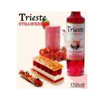 Trieste syrup / sirup rasa Strawberry