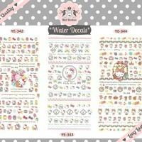 Nail Bonbon Water Decals Hello Kitty Big Sheet