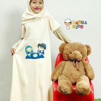 (2-9 tahun) Gamis Kaos Anak Raggakids RG 14 Lets Doa size XS-L