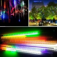 LAMPU HUJAN METEOR / Lampu HiAS LED / ice DEP RGB isi 8 batang