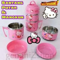 Jual Rantang Putar & Mangkok Hello Kitty Murah