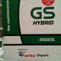 Aki Mobil Nissan Juke, Teana, X Trail GS astra hybrid 55D23L aki basah
