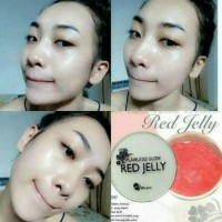 Red jelly flawless ms glow by cantik skin care original