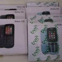 Hp Nokia 130 Dual Sim Kamera 2017 Garansi Resmi 1 tahun