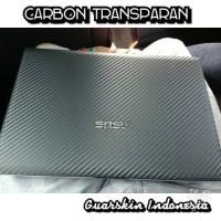Original! Garskin Skin Carbon Transparan Clear Laptop/ Macebook Apple