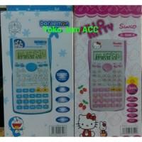 Kalkulator science Doraemon/hellokitty