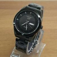Jam tangan pria, Seiko tgl + hari aktif/on, Simple/elegant, kw super