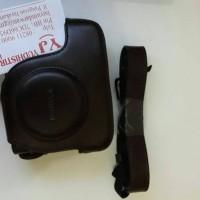 CANON Genuine Leather Case + Leather Strap original G16,G15,G12