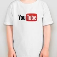 Kaos Anak / Shirt Kid Youtube Red Kid