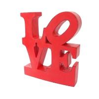 Jual Talase |tulisan pajangan hiasan meja unik love kayu shabby cinta dekor Murah