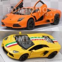 Mobil Mobilan Sport Diecast Miniatur Mainan Anak Cowok Laki Tomtomo