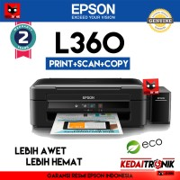 Printer Epson L360 All in One (Print+Scan+Copy) USB AIO L 360 Inkjet